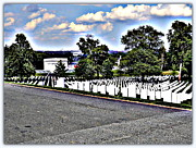Arlington Virginia Digital Art Prints - Rolling Thunder Weekend 2012 Print by Angela Hodges Clay