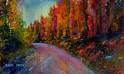 Pastel Paintings - Rollins Pass by Abbie Groves