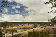 Small Towns Metal Prints - Rollinsville Colorado Metal Print by James Bo Insogna