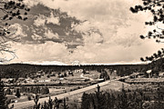 Small Towns Prints - Rollinsville Colorado Small Town 181 Print by James Bo Insogna