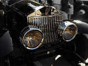 Curt Johnson Metal Prints - Rolls Royce Grill 2 Metal Print by Curt Johnson