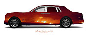 Private Originals - Rolls-Royce Phantom Fires in the Sky by Jan Faul