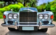 Historic Vehicle Painting Prints - Rolls Royce Silver Shadow 1974 Print by George Atsametakis