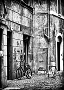Roma Photos - Roma Bike by John Rizzuto