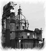 Roma Black And White Print by Stefano Senise