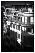 Unique View Posters - Roma Roof View Poster by John Rizzuto