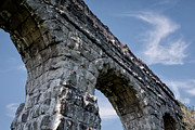 History Channel Metal Prints - Roman Aqueducts II Metal Print by Joan Carroll