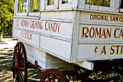 Wagon Photos - Roman Chewing Candy by Scott Pellegrin