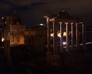 Bav Patel - Roman Forum at Night