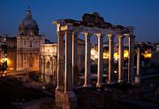 John Daly - Roman Forum at Night