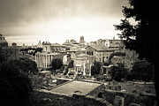 Roman Empire Prints - Roman Forum Print by David Waldo