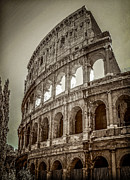Italian Digital Art - Roman History Coliseum by Julie Palencia