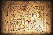 Featured On Faa - Roman Inscription by Heiko Koehrer-Wagner