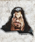 Anibal Diaz - Roman Reigns Caricature...