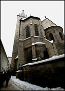 Synagogue Photo Originals - Romanesque Prague by Paul Sutcliffe