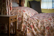 Bed Spread Photos - Romantic Bedroom by Edward Fielding