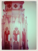 Haunted Digital Art - Romantic Cathedral Architectural Details Photograph by Stephan Chagnon and Laura  Carter