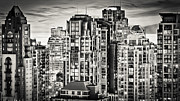 Night Scenes Photo Originals - Romantic Twilight Yaletown CCCLXIX by Amyn Nasser