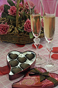 Flutes Photos - Romantic Valentines Day by Kenny Francis