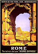Lyons Prints - Rome Express Print by Nomad Art And  Design