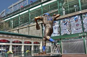 Third Baseman Framed Prints - Ron Santo - 10 Framed Print by David Bearden