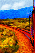 Black Commerce Art - Ronnach Moor Passage by Chuck Mountain