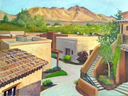 John Marbury - Roof tops of Tubac