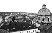 Rooftop Framed Prints - Rooftop View in Praha Framed Print by John Rizzuto