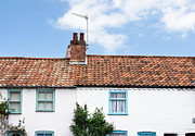 Aldeburgh Prints - Rooftops Print by Tom Gowanlock