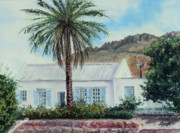 South Pastels Prints - Rooiwal Print by Constance Widen