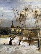 Famous Artists - Rooks have Returned by Alexei Savrasov