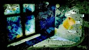 Reflected Digital Art - Room for the spaced out by Gun Legler