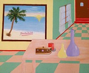 Inge Lewis Prints - Room with a view Print by Inge Lewis