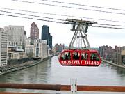 Roosevelt Island Tram Print by Ed Weidman