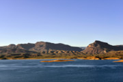 Salt Prints - Roosevelt Lake Arizona Print by Christine Till