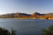 Vista Prints - Roosevelt Lake Arizona - The American Southwest Print by Christine Till