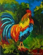Etc. Paintings - Rooster by Brandi  Hickman