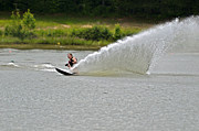 Rooster Tail Print by Susan Leggett