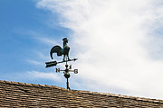 Weathervane Prints - Rooster Weathervane Print by Wayne Stabnaw