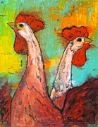 Brinkman Artworks - Roosters at Dawn