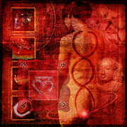 Mark Preston Metal Prints - Root Chakra Metal Print by Mark Preston