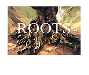 Tree Roots Digital Art - Roots by Bob Salo