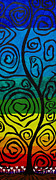 Kaleidoscopic Painting Originals - Roots of Love by Sean Ward