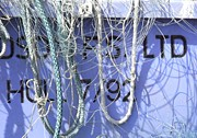 Baffling Prints - Ropes And Nets 3 Bridlington Print by Gail Miller