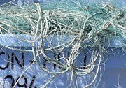 Baffling Prints - Ropes And Nets Bridlington 2 Print by Gail Miller