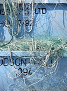 Baffling Prints - Ropes And Nets Print by Gail Miller