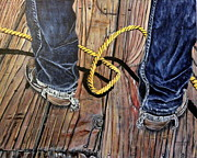 Marilyn  McNish - Roping boots