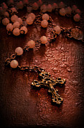 Rosary Framed Prints - Rosary Love Framed Print by Margie Hurwich