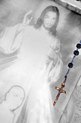 Rosary Originals - Rosary with Picture of Jesus Las Cruces New Mexico 2010 by John Hanou
