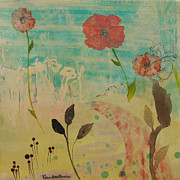 Robin Maria Pedrero Metal Prints - Rose Colored Path Metal Print by Robin Maria  Pedrero